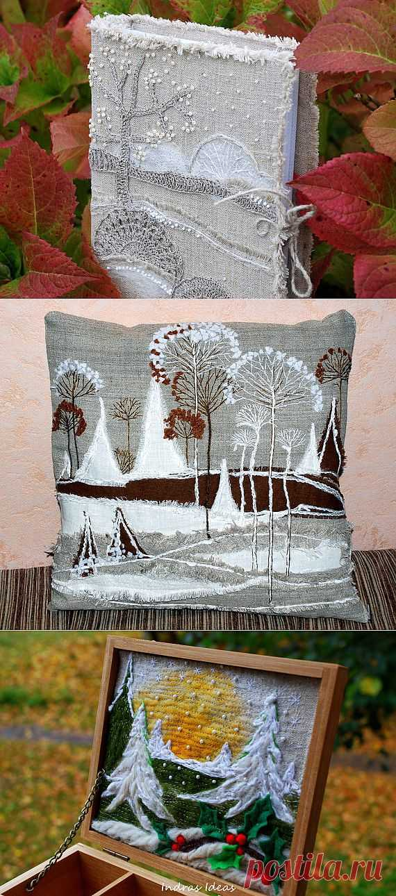 Landscapes from threads from Indras Ideas. (found Driada7) (Talent + gold handles)))