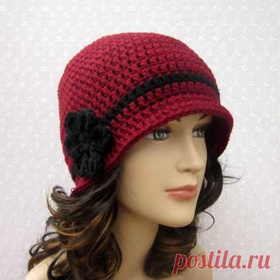 d65bcbf999464 Free Crochet Cloche Hat Pattern With Flower Bing. Free Crochet Cloche Hat  Pattern With Flower Bing детское Постила