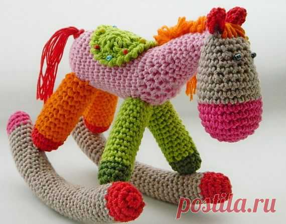 HORSE \/ Knitted toys. Master classes, schemes, description. \/ PassionForum - master classes in needlework