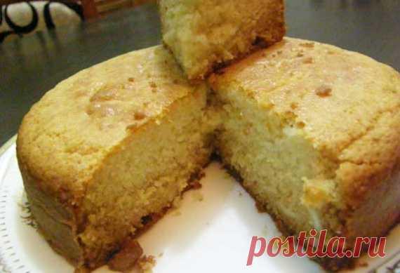 Постный бисквит / Торты / TVCook: пошаговые рецепты с фото