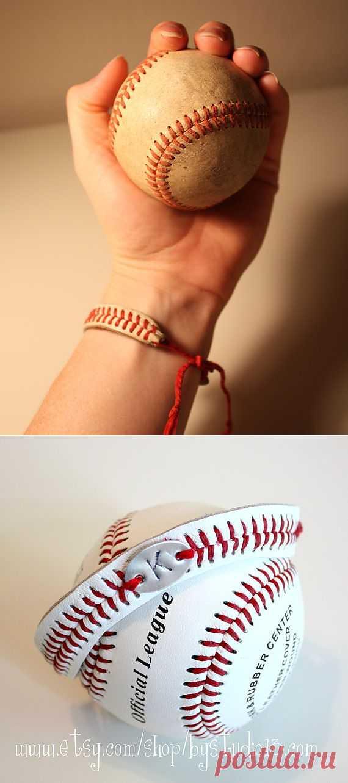 Бейсбольный браслет / Аксессуары (не украшения) / Модный сайт о стильной переделке одежды и интерьера