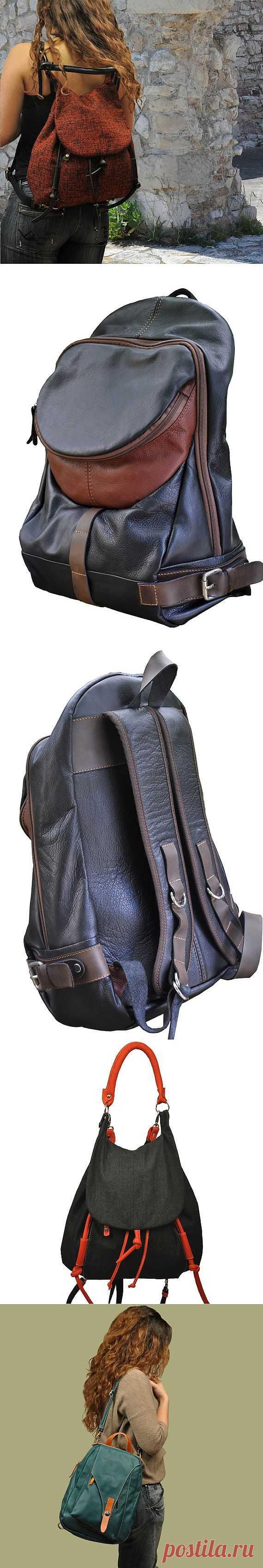Сумка-рюкзак (подборка) / Сумки, клатчи, чемоданы / Модный сайт о стильной переделке одежды и интерьера