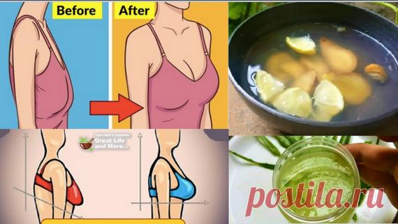 Подтяните провисшую грудь всего за 30 дней, используя эти 2 ингредиента - Полезные советы красоты