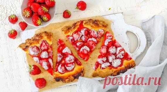 Песочный пирог с клубникой, пошаговый рецепт с фото Песочный пирог с клубникой. Пошаговый рецепт с фото, удобный поиск рецептов на Gastronom.ru