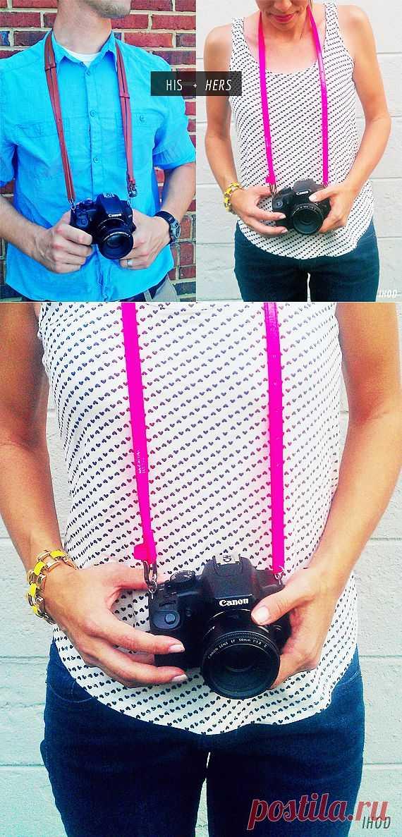 Быстро-ремешок для зеркалки (DIY) / Ремни / Модный сайт о стильной переделке одежды и интерьера