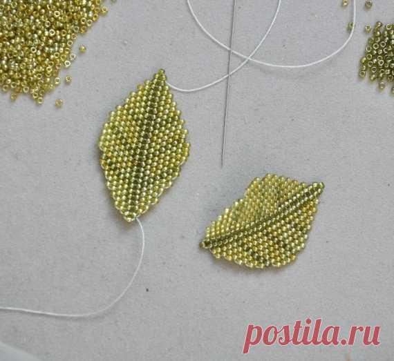 Leaf zhelobokovygibisty \/ Master classes \/ Bead