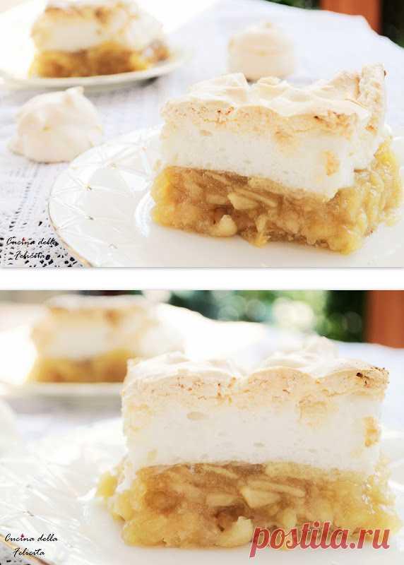 Яблочный пирог с меренгой (для получения рецепта нажмите на картинку)