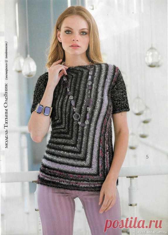 Журнал Мод. Вязание №633 2021   Женская одежда крючком. Схемы и описание
