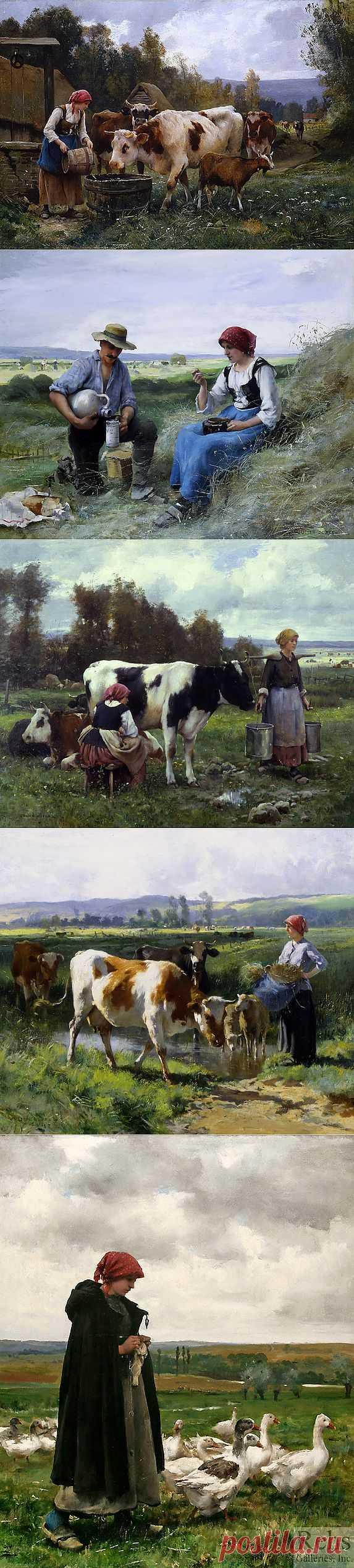 Крестьянская жизнь от Julien Dupre.