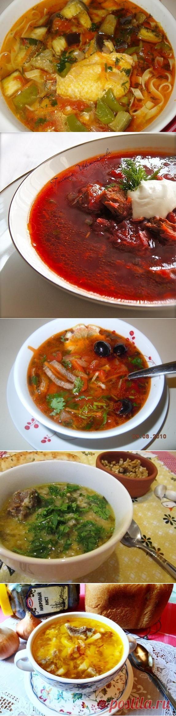 ТОР - 7 Вкусных и горячих первых блюд 🍲