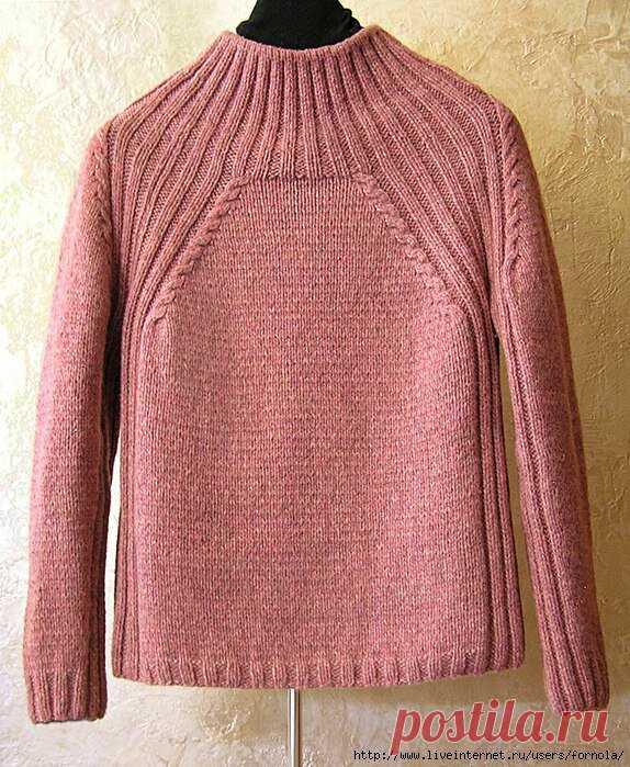 Готовимся к осени. Джемперы и пуловеры спицами. Схемы (ч.9). | Волшебный клубочек! | Яндекс Дзен