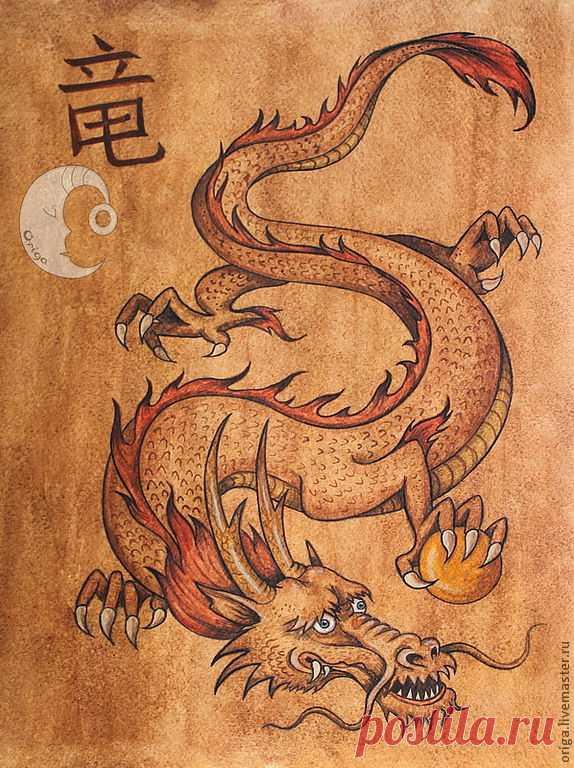 древний китай картинки дракона
