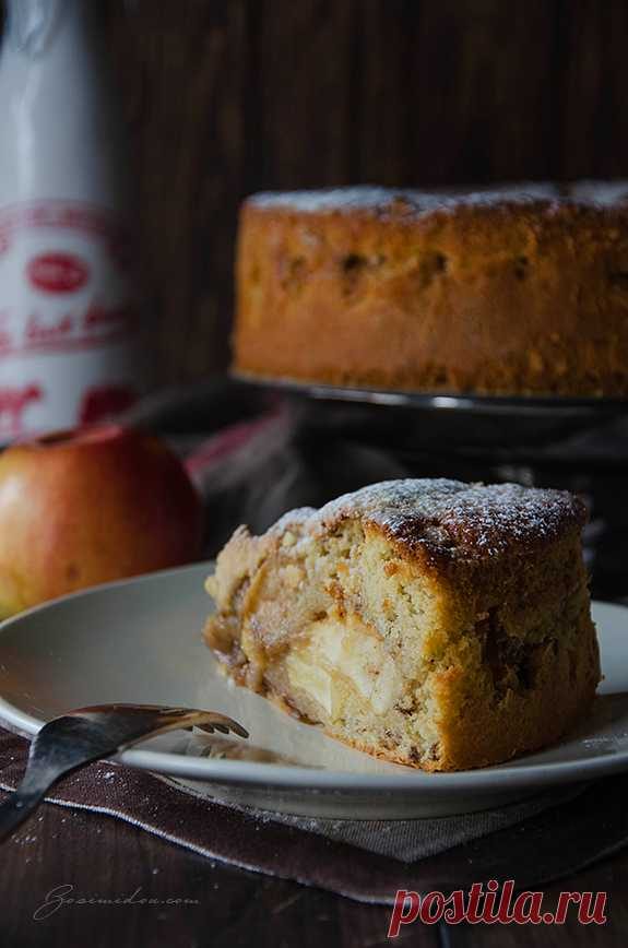 Корнуэльский яблочный пирог   Блог Zosimidou