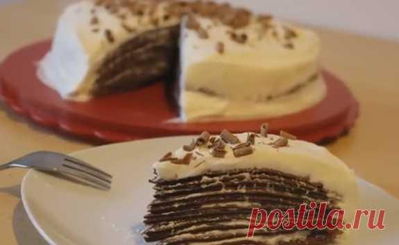 Блинный торт в домашних условиях - как приготовить торт из блинов