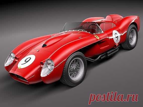 Ferrari  Testarossa 250 1957 года. Машина была продана за 12 млн долларов на торгах RM Auctions. Кроме того, она является победителем многочисленных гонок в 1950-1960 годах в Бразилии, Кубе и Португалии.