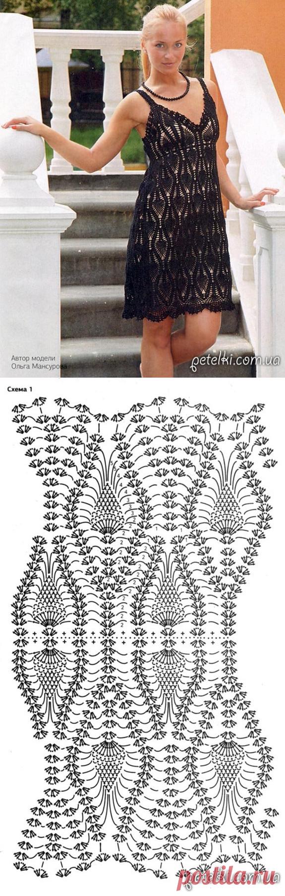 если платье с ананасами крючком фото путешествий массовых