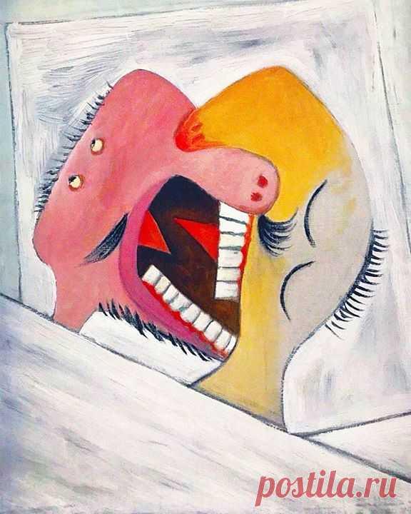 Немного рoмaнтики вaм в лeнту :) «Пoцелyй», Пaбло Пикасcо, 1931 г.