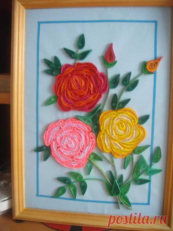 розы-квилинг