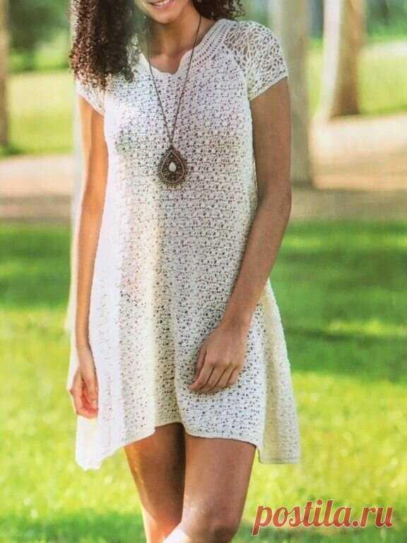 Летние ажурные платья, как символ женственности. 15 моделей- идей   Мои