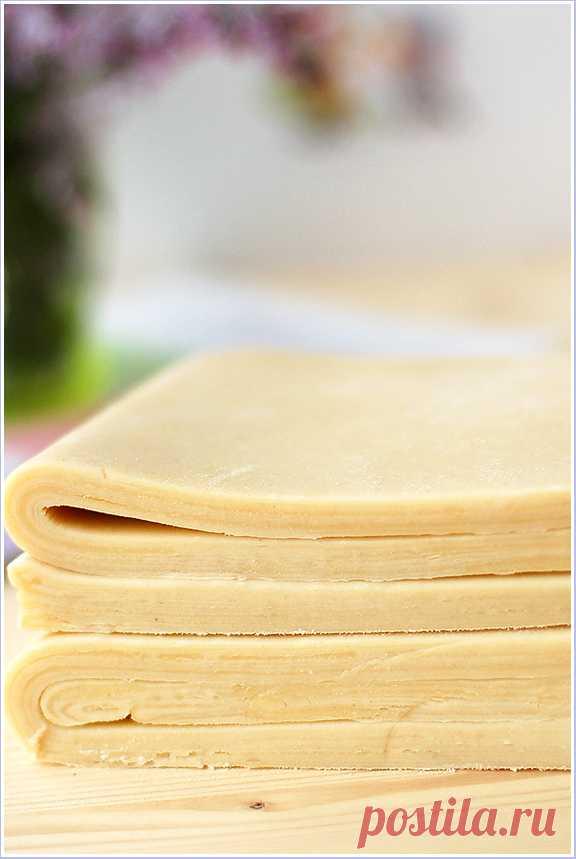 инвертированное слоеное тесто от Пьера Эрме, or Pâte Feuilletée Inversée - easycooks