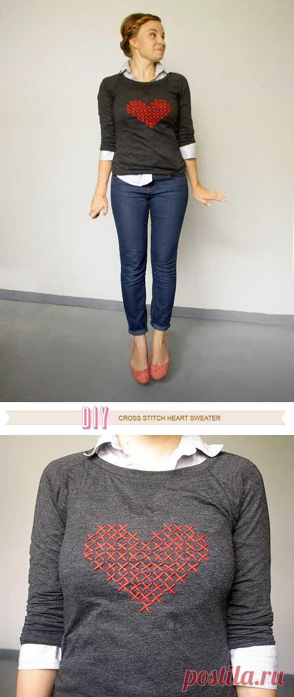 Любовь к вышивке (DIY) / Вышивка / Модный сайт о стильной переделке одежды и интерьера