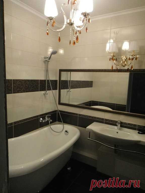 ванная в хрущевке фото дизайн 3