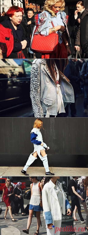 Живой стритстайл №2 (трафик) / Street Style / Модный сайт о стильной переделке одежды и интерьера
