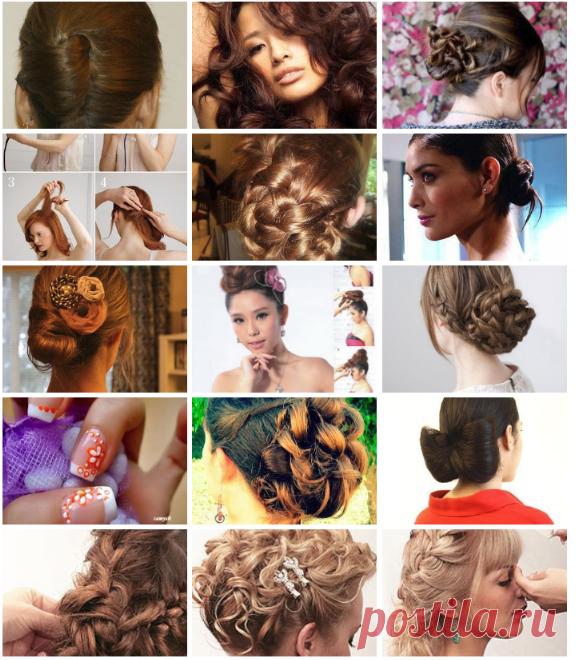! Причёски, маникюр, макияж – 241 фотография