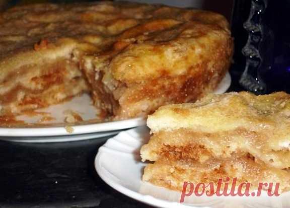 Самый ленивый яблочный пирог | Клуб женщин