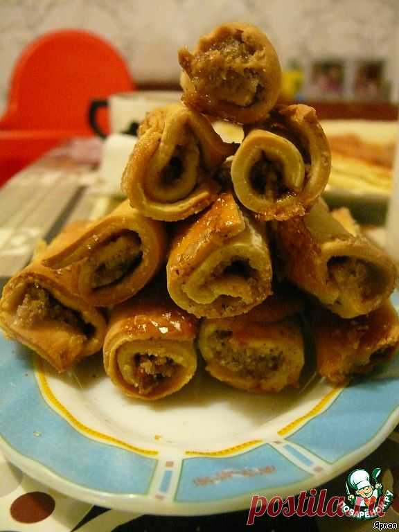 Barmak with walnuts. The sweet product, very well will approach tea.