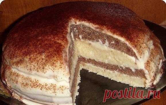 Как приготовить простой рецепт очень нежного и вкусного тортика на кефире! - рецепт, ингредиенты и фотографии