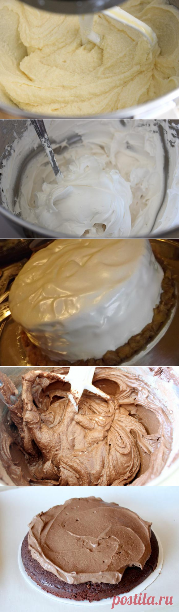 Крем для бисквитного торта в домашних условиях рецепт