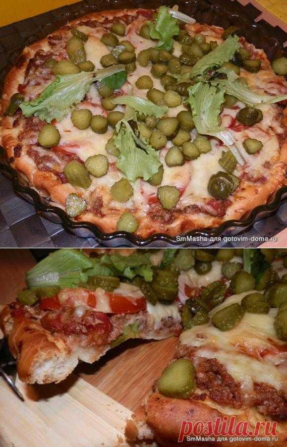 Pizza in style Big Mac
