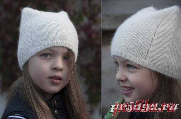 Детские шапочки, шарфики и береты спицами или крючком с описанием - Результаты из #40