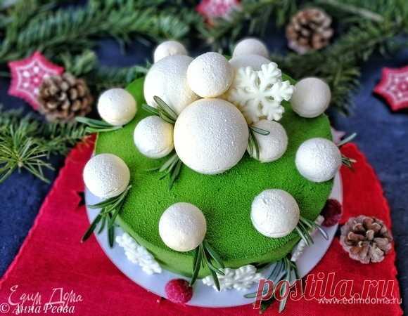 Новогодний праздничный торт «Снежки на елке», пошаговый рецепт на 4758 ккал, фото, ингредиенты - Анна Ревва