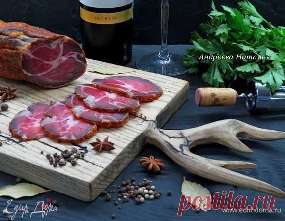 Вяленое мясо в домашних условиях, пошаговый рецепт на 5482 ккал, фото, ингредиенты - Наталья Андреева