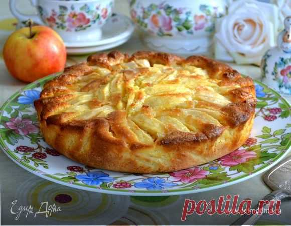 Как приготовить Итальянский деревенский яблочный пирог  Пошаговый рецепт с ингредиентами и фото