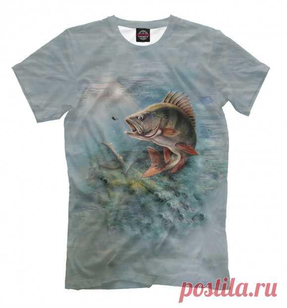 """Мужская футболка """"Рыбалка"""""""