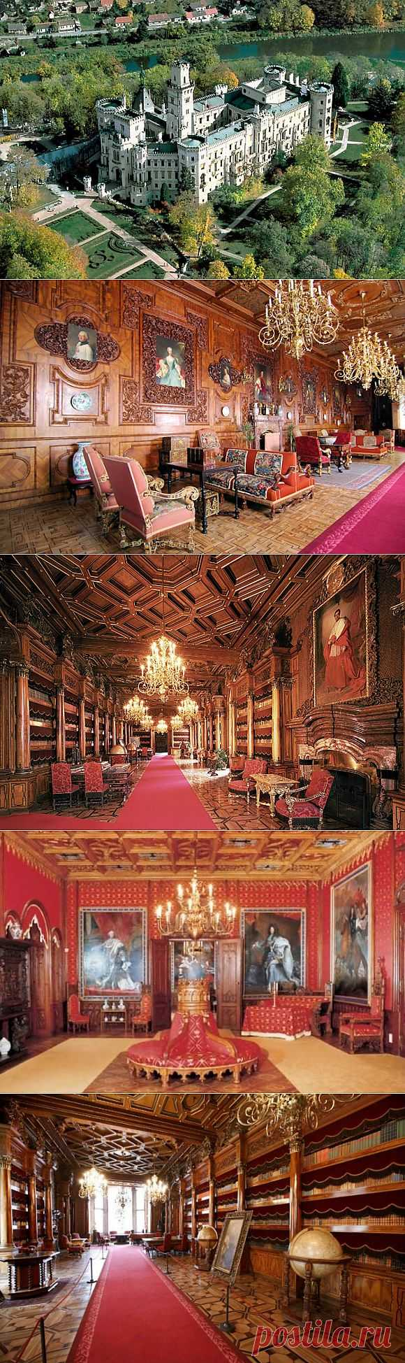 Замок «Глубока-над-Влтавой» , Чехия.