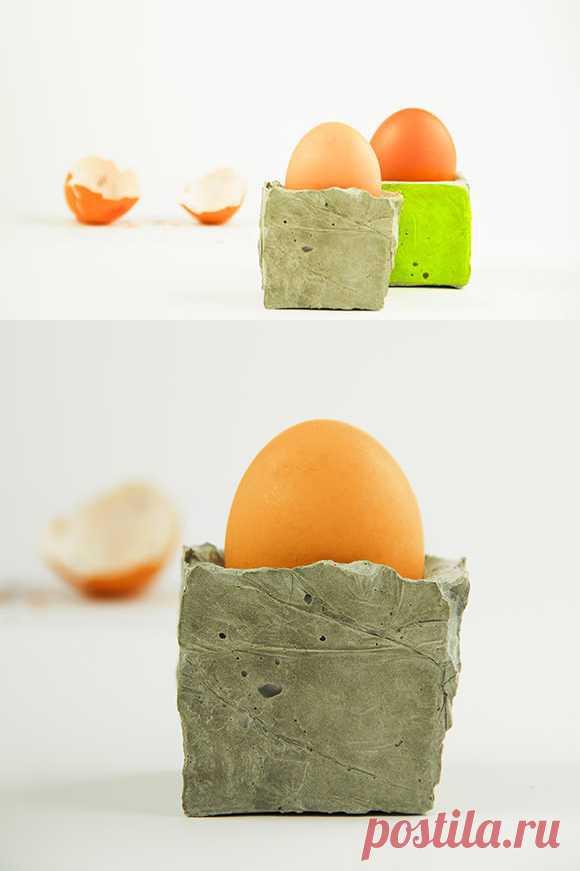 Самодельная подставка для яиц