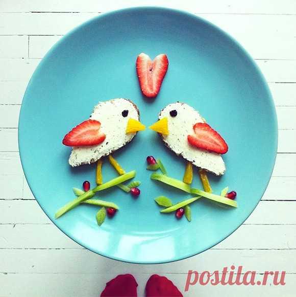 El desayuno como el arte