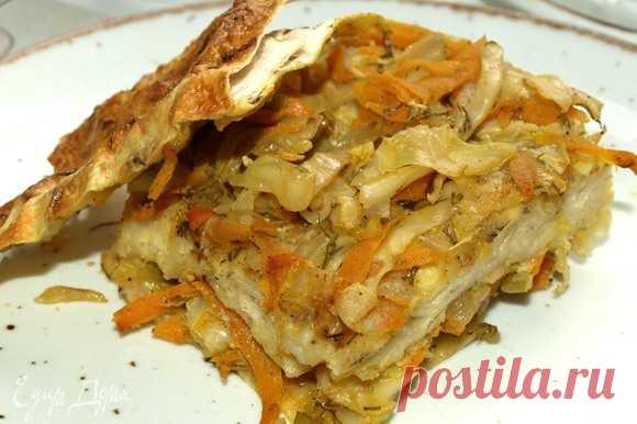 Пирог из лаваша с капустой, пошаговый рецепт на 1427 ккал, фото, ингредиенты - Svetlana Gorelova