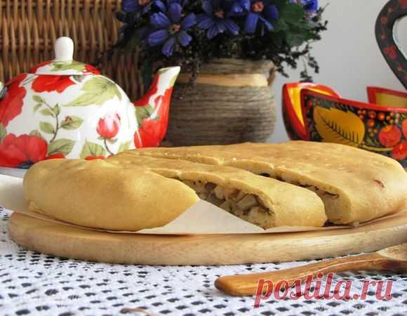 Pskov salty mushrooms pie (fast) | Official site of culinary recipes of Yulia Vysotskaya