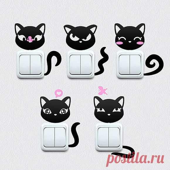 Выключатели-кошки / Детская комната / Модный сайт о стильной переделке одежды и интерьера