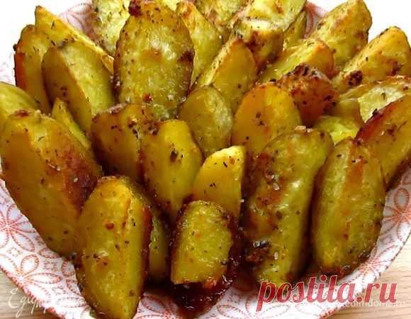 Картофель по-селянски в духовке рецепт 👌 с фото пошаговый | Едим Дома кулинарные рецепты от Юлии Высоцкой