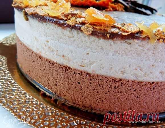 Французский воздушный муссовый торт с грильяжем, пошаговый рецепт на 6703 ккал, фото, ингредиенты - Наталья Андреева