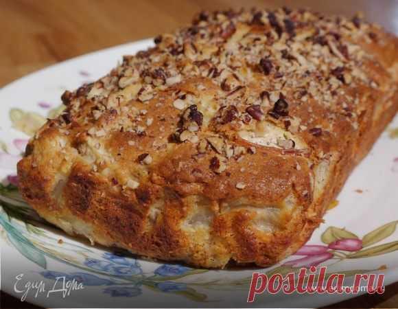 Как приготовить Банановый хлеб с грушами и орехами  Пошаговый рецепт с ингредиентами и фото