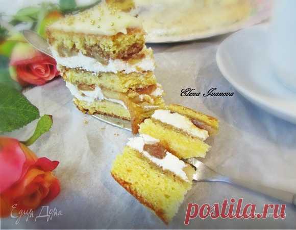 Торт «Карамельные яблочки» | Официальный сайт кулинарных рецептов Юлии Высоцкой