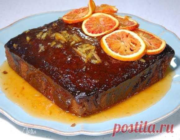 Пряный кекс под апельсиновым соусом , пошаговый рецепт на 3787 ккал, фото, ингредиенты - Юлия Высоцкая
