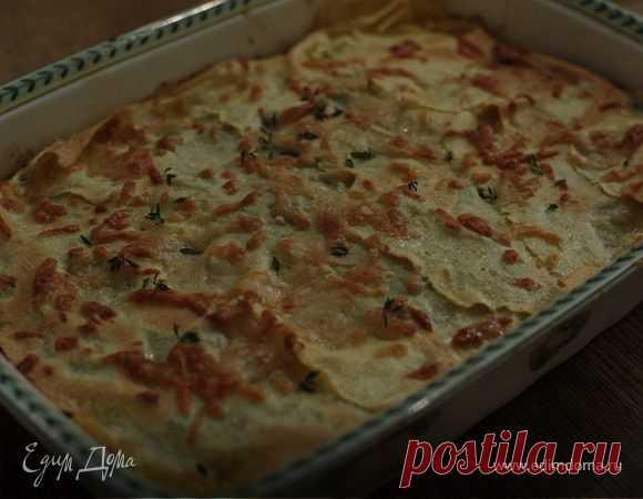 Лазанья с грибами, козьим сыром и шпинатом рецепт 👌 с фото пошаговый | Едим Дома кулинарные рецепты от Юлии Высоцкой
